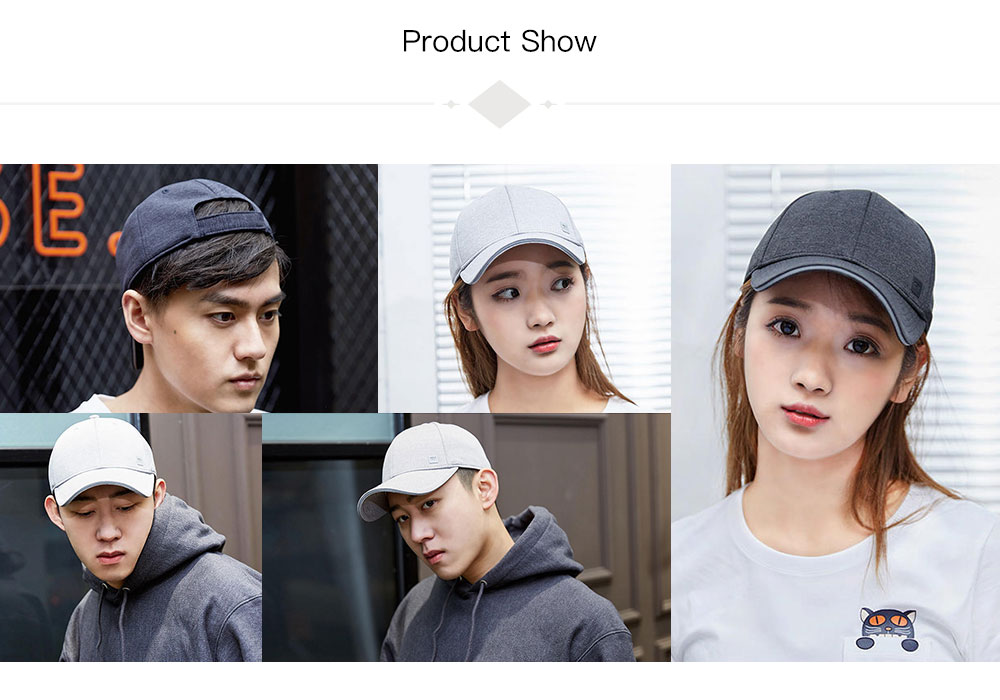 Xiaomi Trendy Solid Color Reflective Baseball Cap
