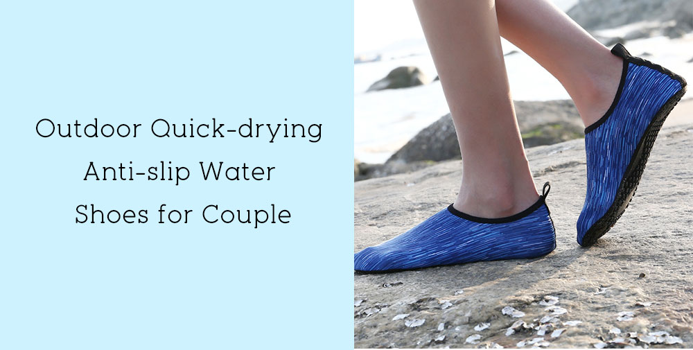 Outdoor Stylish Quick-drying Anti-slip Water Shoes for Couple