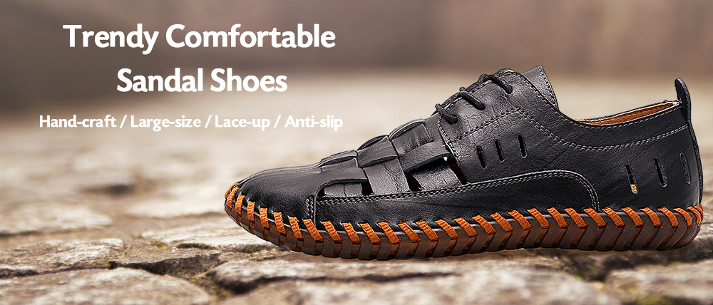 Trendy Outdoor Breathable Casual Laced Shoes for Men