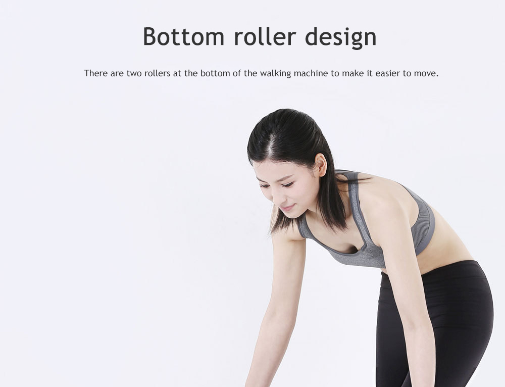 WalkingPad A1 Sports Folding Walking Machine Gym Equipment Fitness from Xiaomi Youpin- Gray Chinese Plug (3-pin)
