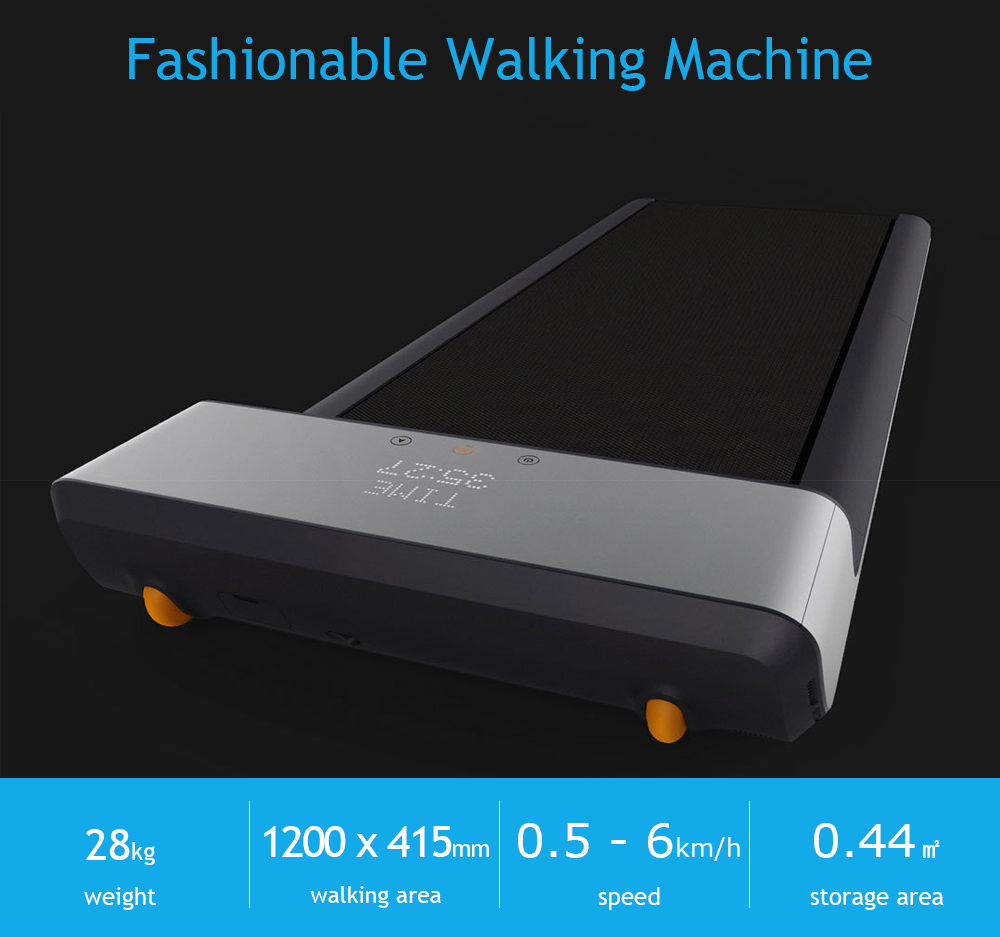 A1 Sports Folding Walking Machine Gym Equipment Fitness from Xiaomi Youpin- Gray