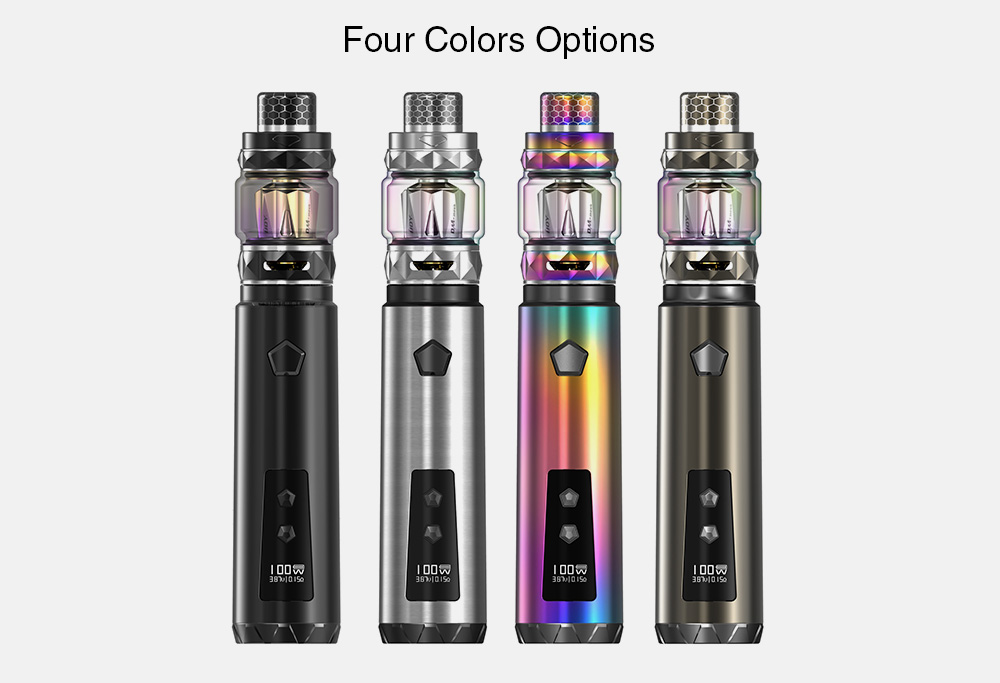 IJOY Saber 100 20700 VW Kit with 0.05 - 3 ohm / 5.5ml for E Cigarette- Silver
