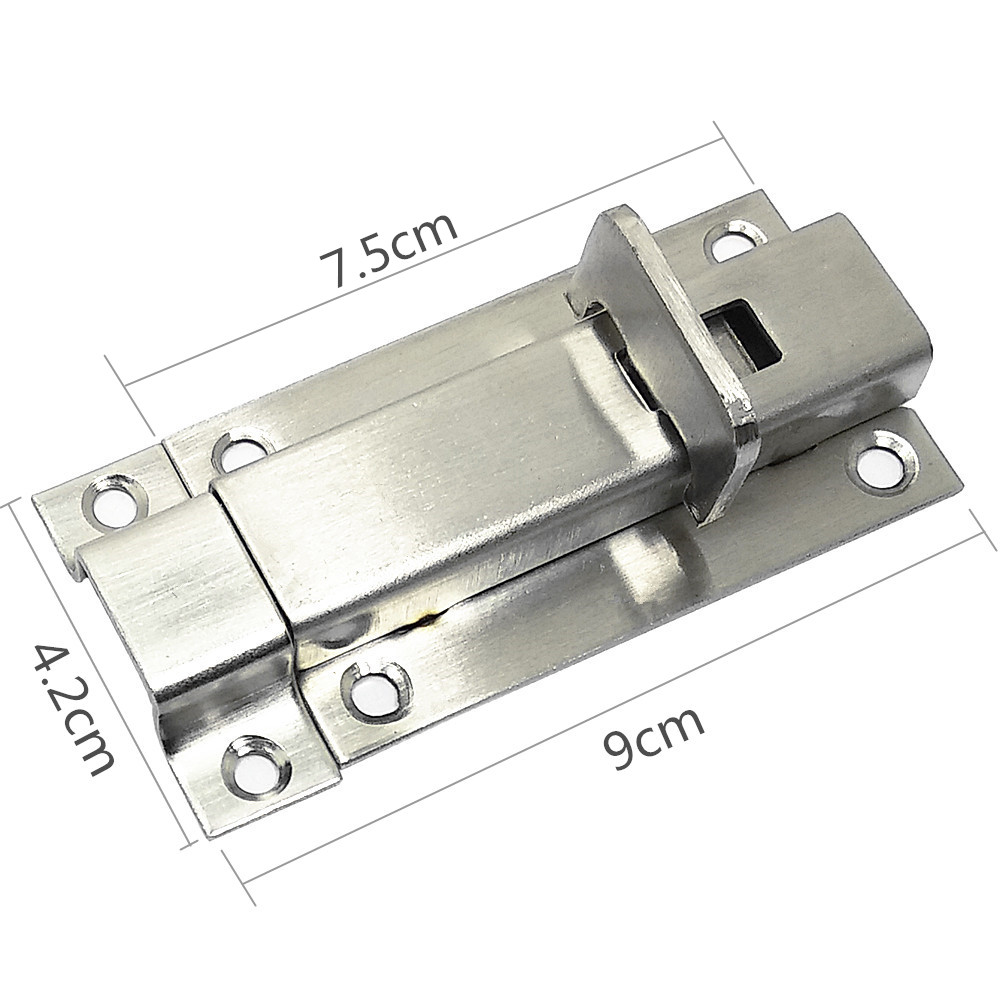 Security Thickened Stainless Steel Door Slide Bolt Latch 343