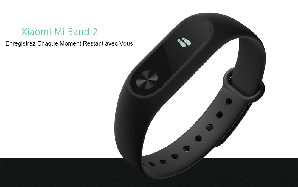 Original Xiaomi Mi Band 2 Smartband- Noir Version Internationale