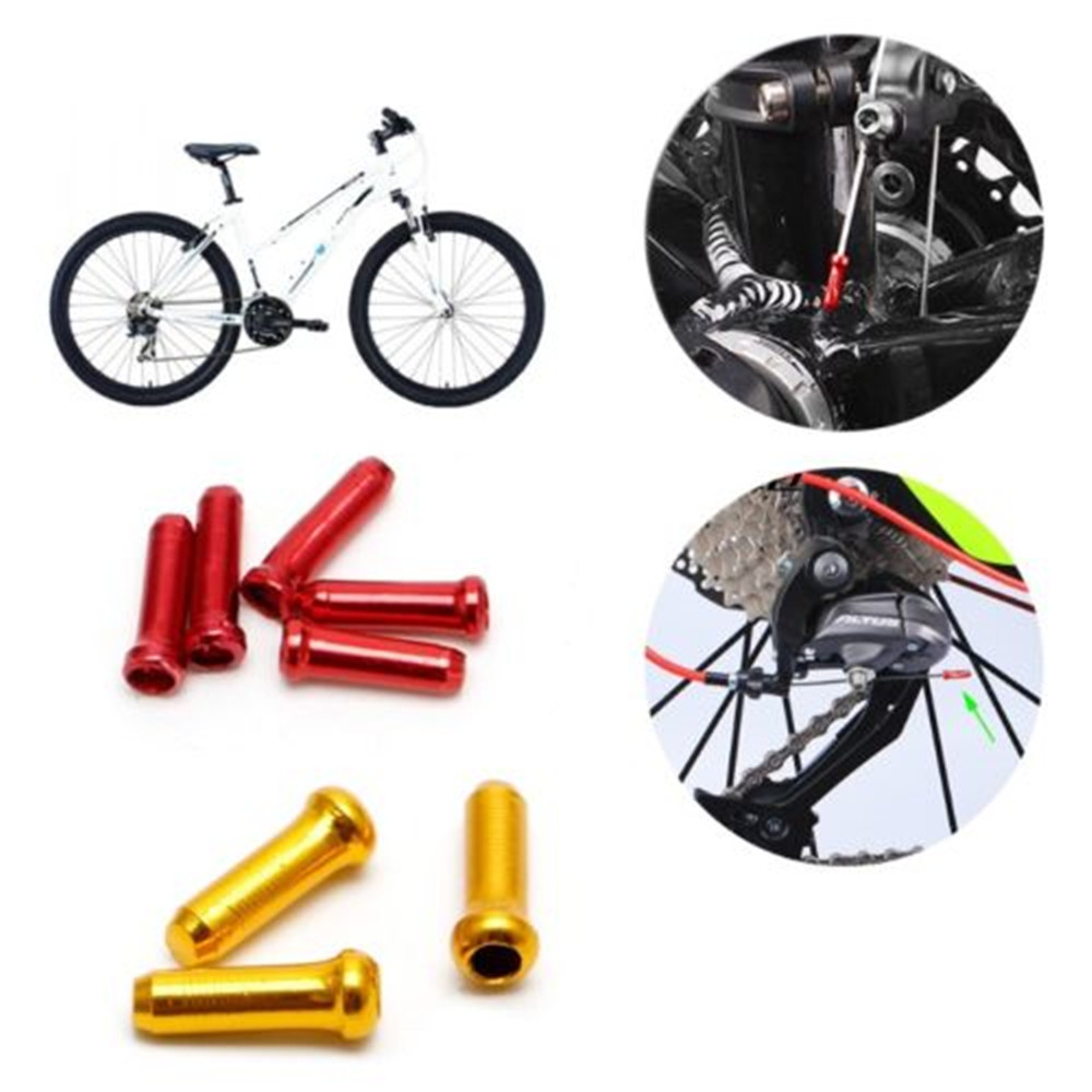 Colorful Cycling MTB Bicycle Part Cable Part Brake Wire Cap Bike Line Cap Cover