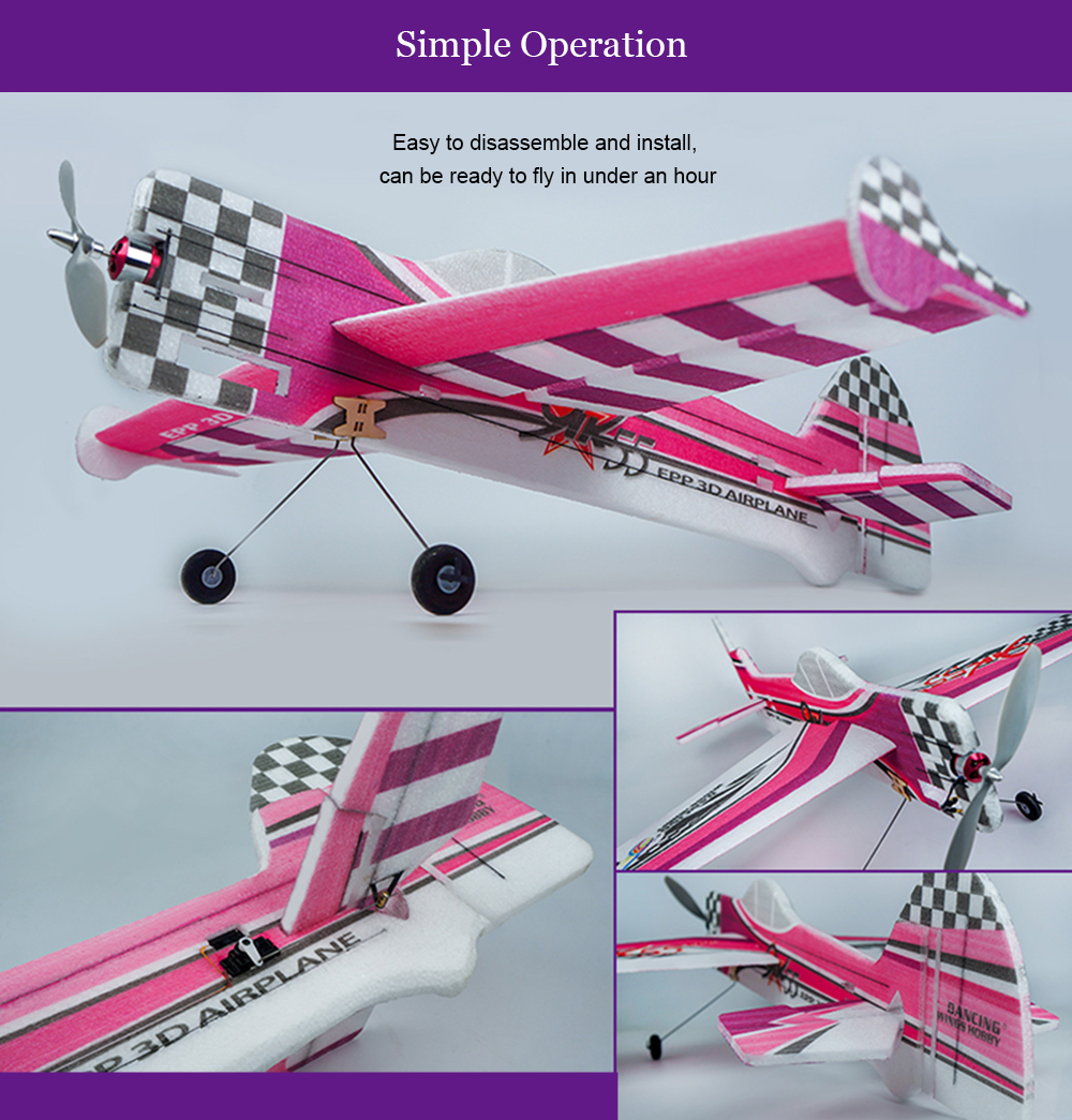 Dancing Wings Hobby Yak55 3D EPP Foam RC Airplane Model