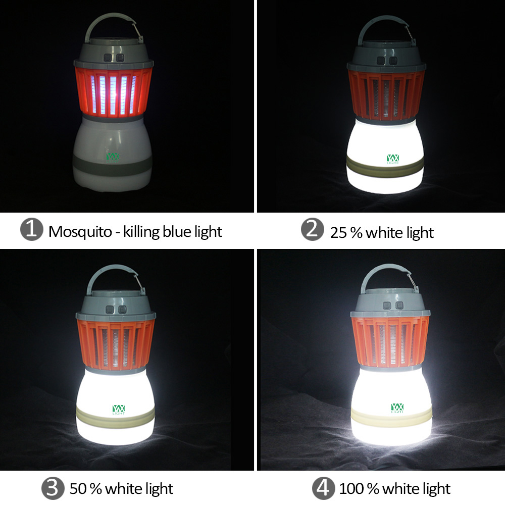 YWXLight LED Camping Light Waterproof Mosquito Killer Lamp