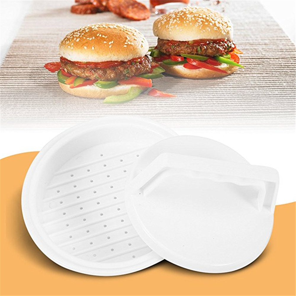 Kitchen Tools Plastic Meat DIY Mold- White