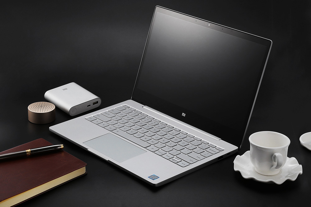 Xiaomi Air 12 Dizüstü Bilgisayar 12.5 inç Windows 10 Home- Silver m3-6Y30 Win10 Chinese Version