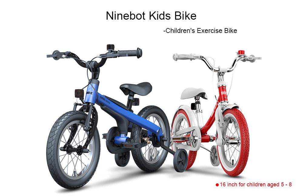 Ninebot Kids Bike Double Disc Brakes Children Bicycle from Xiaomi mijia