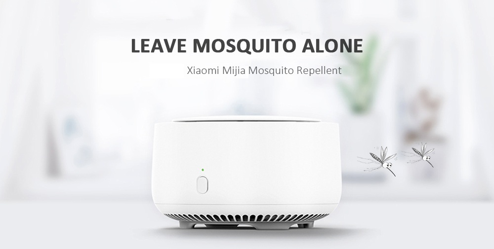 Xiaomi Mijia Mosquito Repellent Mini Mute Indoor with 10h Timing Function- White
