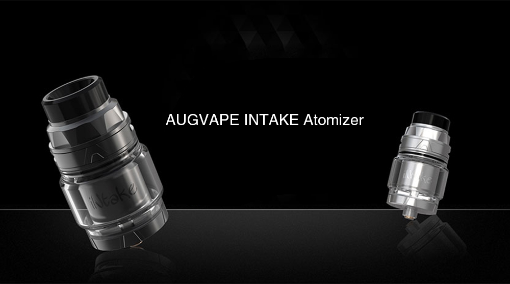 AUGVAPE INTAKE RTA Atomizer with 4.2ml Capacity for E Cigarette- Black