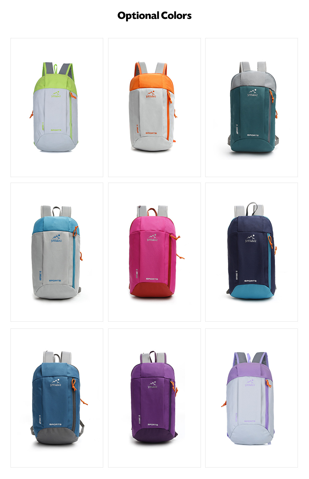 HUWAIJIANFENG Trendy Durable Backpack- Lapis Blue