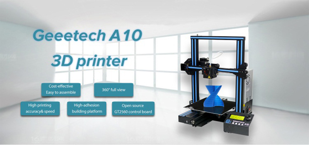 Geeetech A10 + 10% off ? – Ministry of 3D