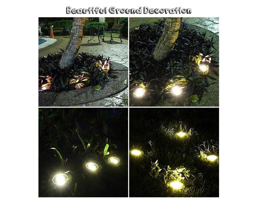Rotate Laser Light Led Christmas Decoration Outdoor Landscape Lawn Lamp Us Plug Red & Green L Security & Protection