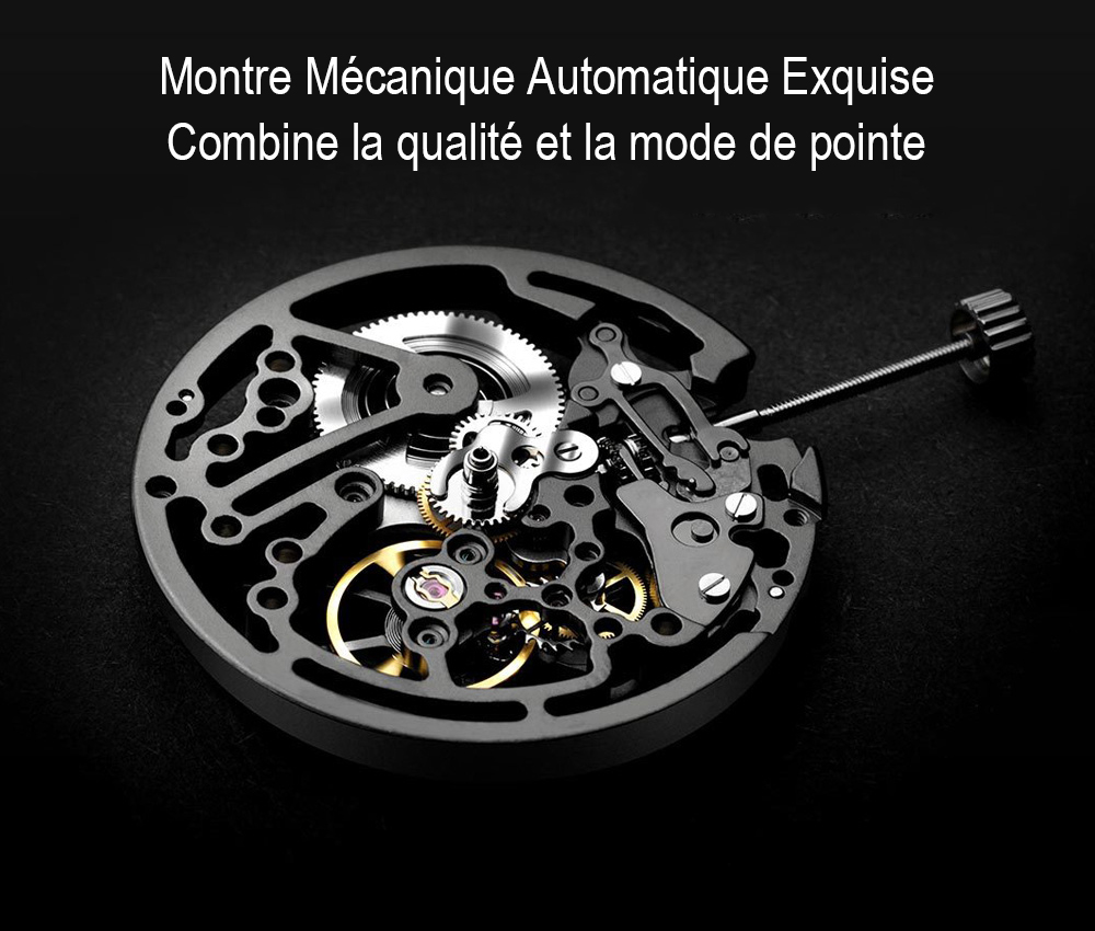 Xiaomi You Pin CIGA Montre Mécanique Automatique - Noir
