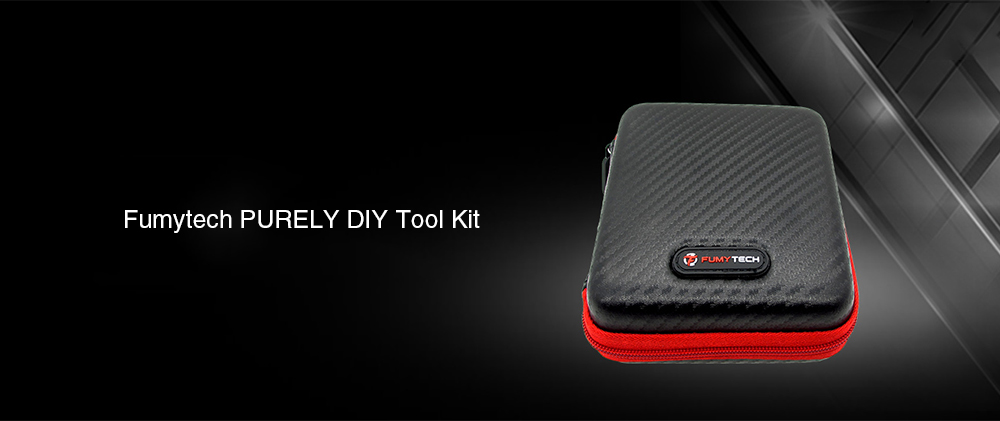 Fumytech PURELY DIY Portable Tool Kit for E Cigarette- Black