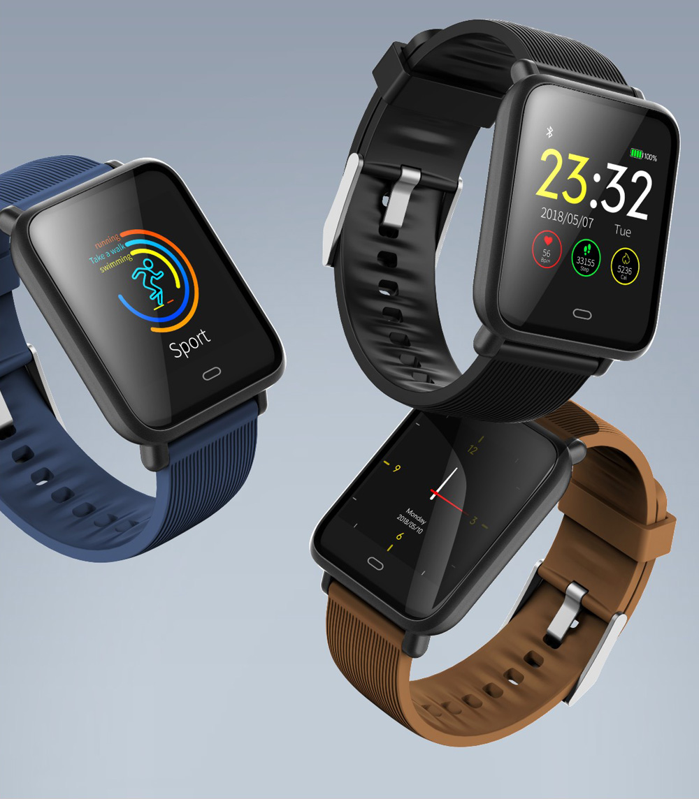 Q9 Waterproof Sports Smart Watch for Android / iOS - $19.99 Free ...