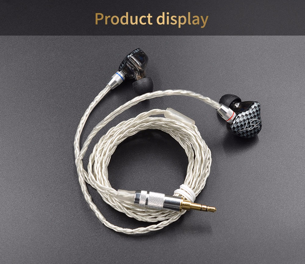 Kz Earphone Cable 2 Pin 075mm Detachable Audio Cord 629 Free Power Jack Plug Wire Socket Connector Lead Male And Female Hm Upgraded Silver Plated Earbuds For