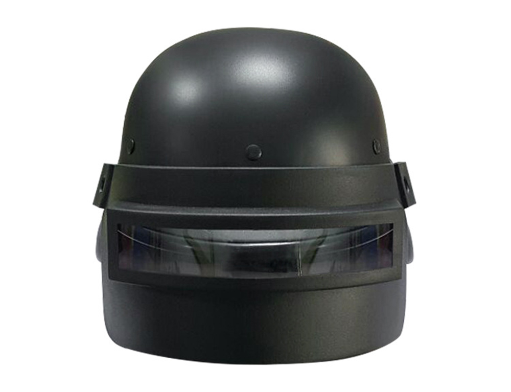 Realistic Famous Game Character Helmet Decoration Accessory- Black