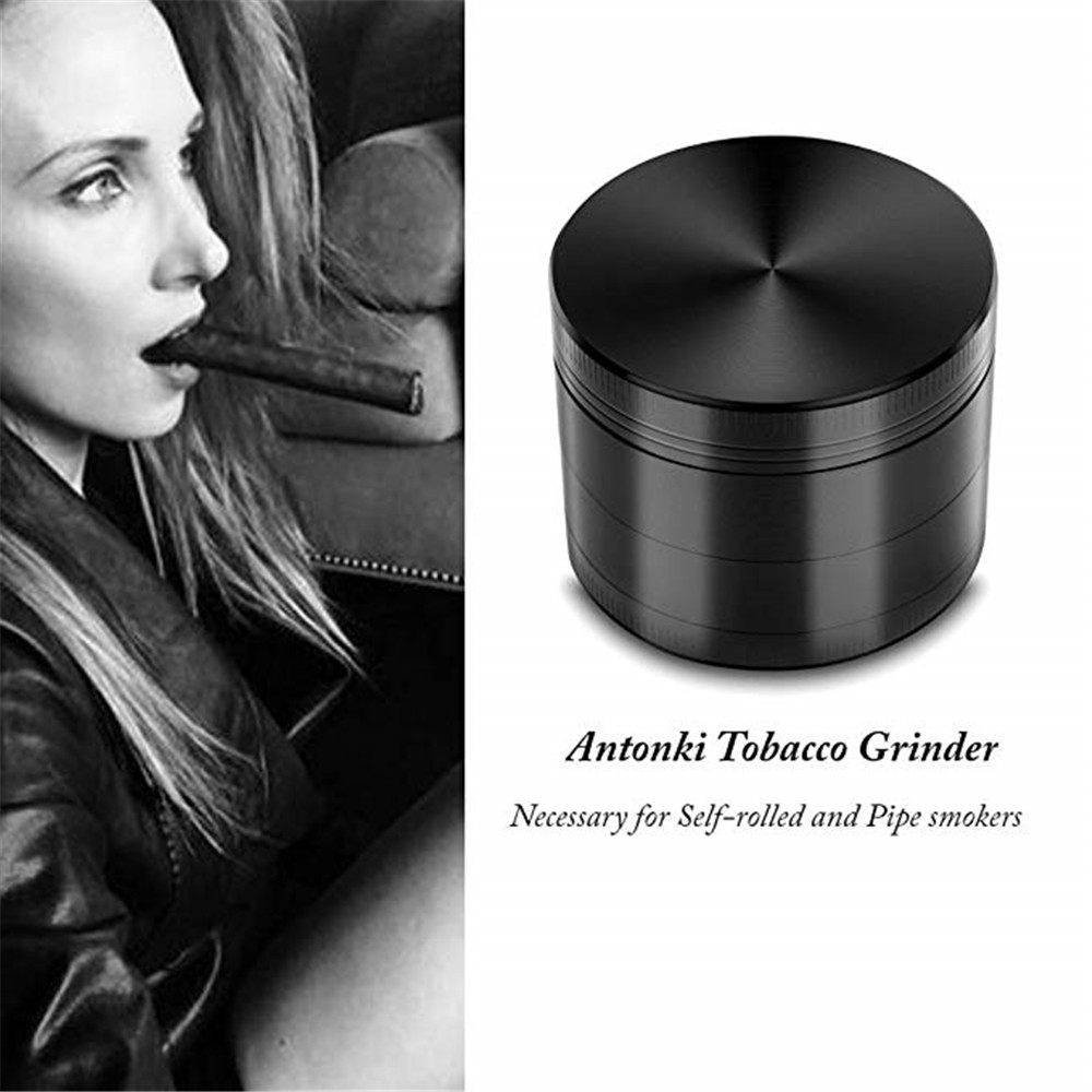 Broken Smoke Grinder Metal Tobacco Grinder Smoking Pipe Herb