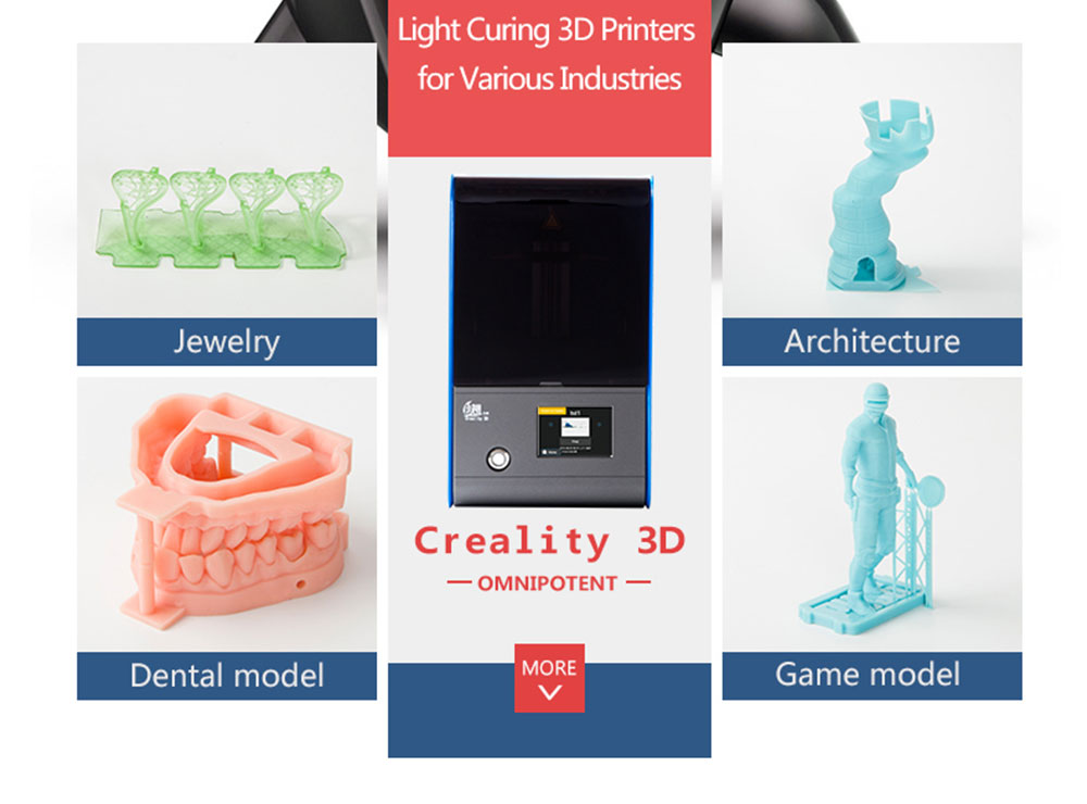 Creality3D LD - 001 DLP Light Curing 3D Printer