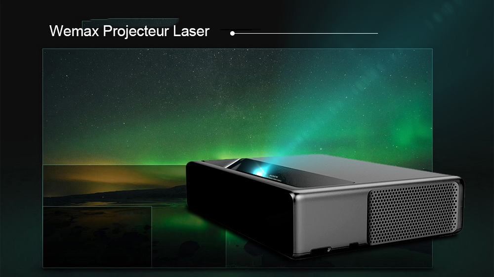 WEMAX ONE PRO FMWS02C ANSI Laser Projector - Mirror Black
