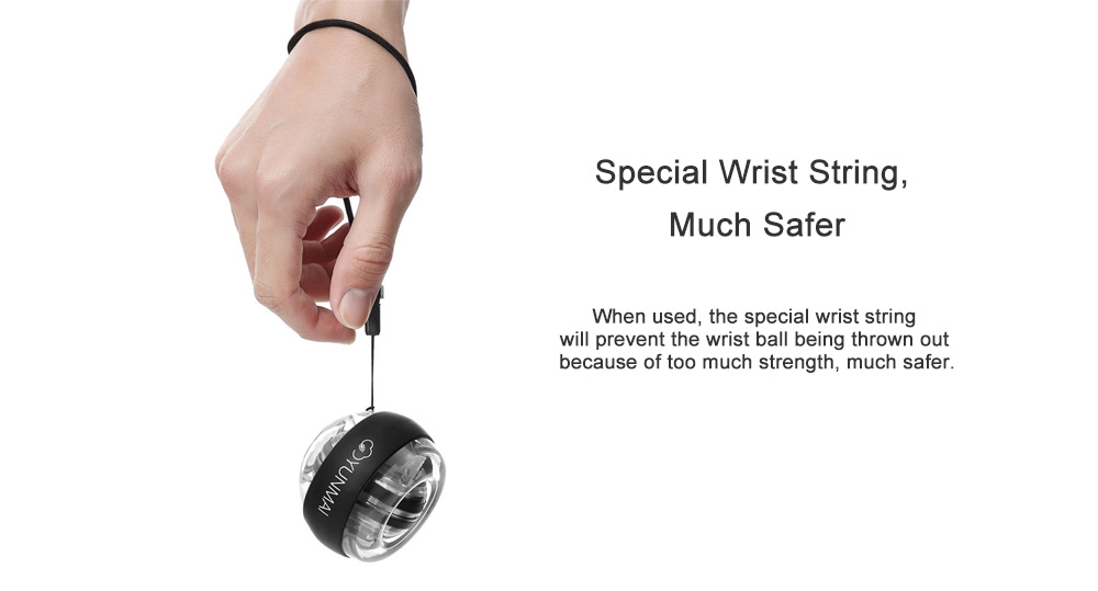 YUNMAI Wrist Ball Pressure Reducer for Home Use from Xiaomi youpin- Black