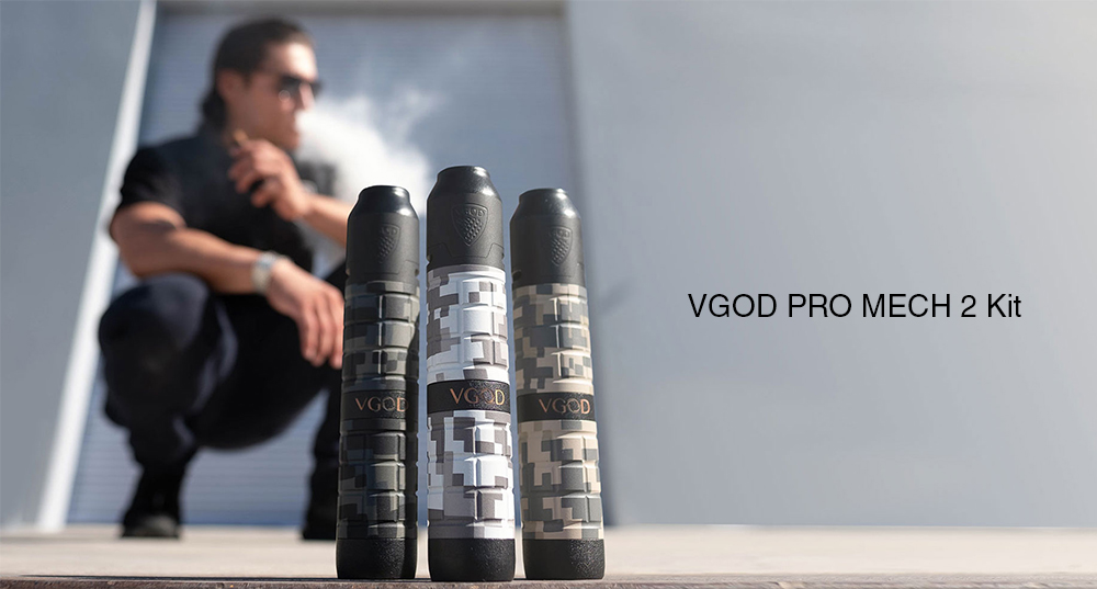 VGOD PRO MECH 2 KIT real shots