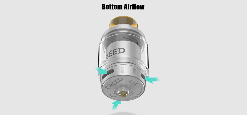Geekvape Creed RTA with 6.5ml Capacity for E Cigarette- Black