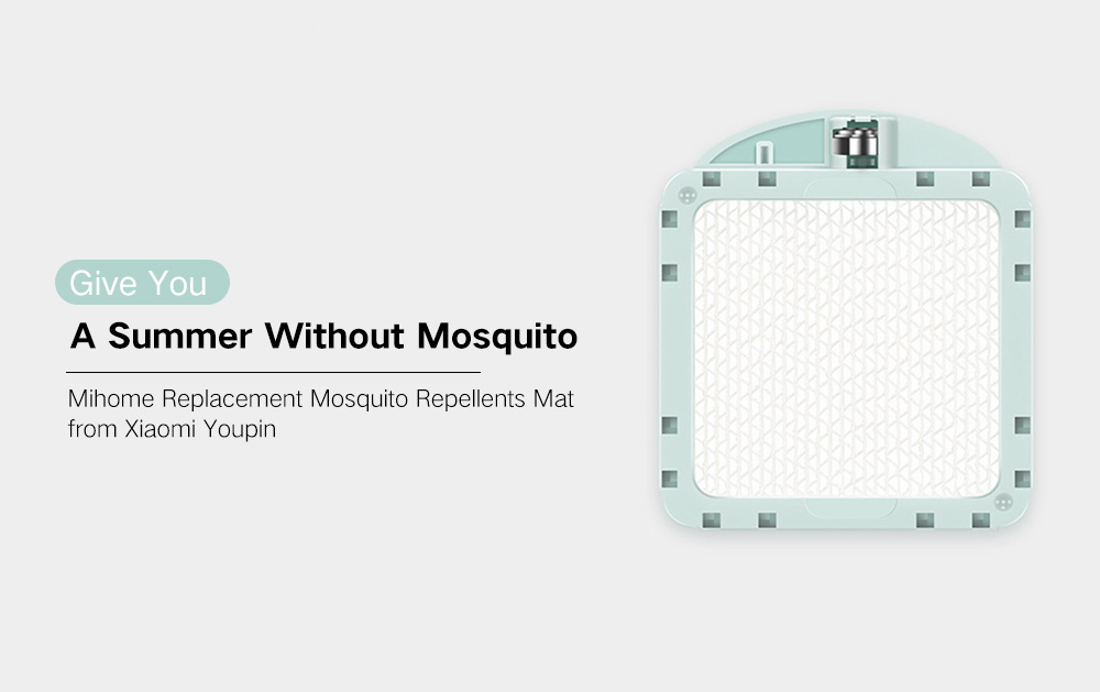 Mosquito Repellents Mat for Mosquito Dispeller Replacement Piece from Xiaomi Youpin- White
