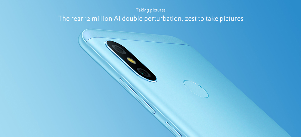 Xiaomi Mi A2 Lite 4G Phablet 5.84 inch Android 8.1 Qualcomm Snapdragon 625 Octa Core 2.0GHz 4GB RAM 64GB ROM 12.0MP + 5.0MP Dual Rear Cameras Fingerprint Sensor 4000mAh Built-in- Gold