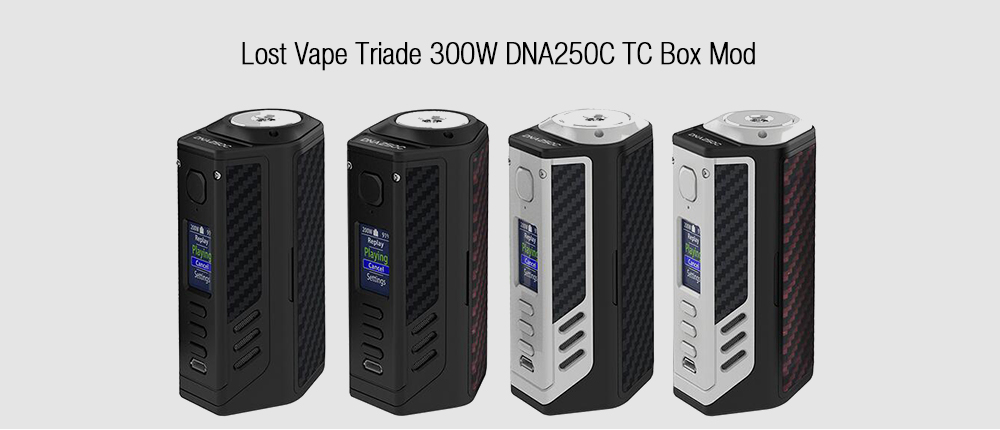Lost Vape Triade 300W DNA250C TC Box Mod