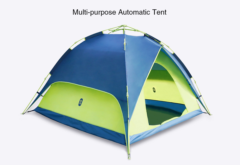 zaofeng Automatic Pop up Waterproof Tent from Xiaomi youpin- Silk Blue