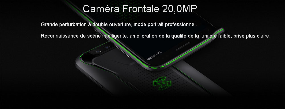 Smartphone 4G Xiaomi Black Shark Version Globale- Noir