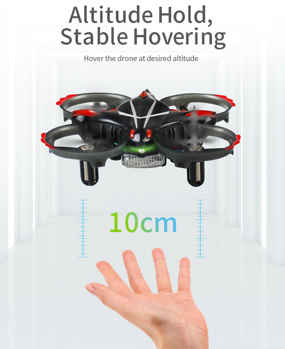 Toys & Hobbies Buy Cheap H56 Taichi Rc Drones Interactive Altitude Hold Gesture Control Throw Shake Fly 3d Flip One Key Takeoff Landing Drone Dron