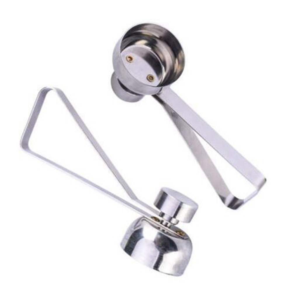 Stainless Steel Egg Topper Cutter Shell Boiled Raw Openers Kitchen Tool- Silver