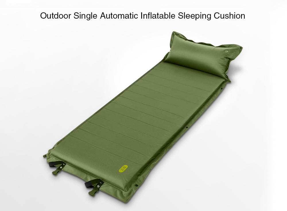 Zaofeng Inflatable Sleeping Cushion from Xiaomi Youpin Army Green