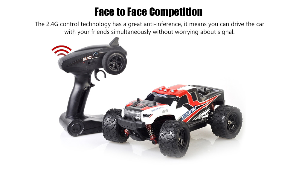 Hs18301 1 18 4wd Rc Car Monster Truck 2 4g Control 49 00 Free