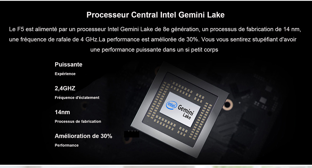 Windows 10 Accueil Version Intel Gemini Lake N4100