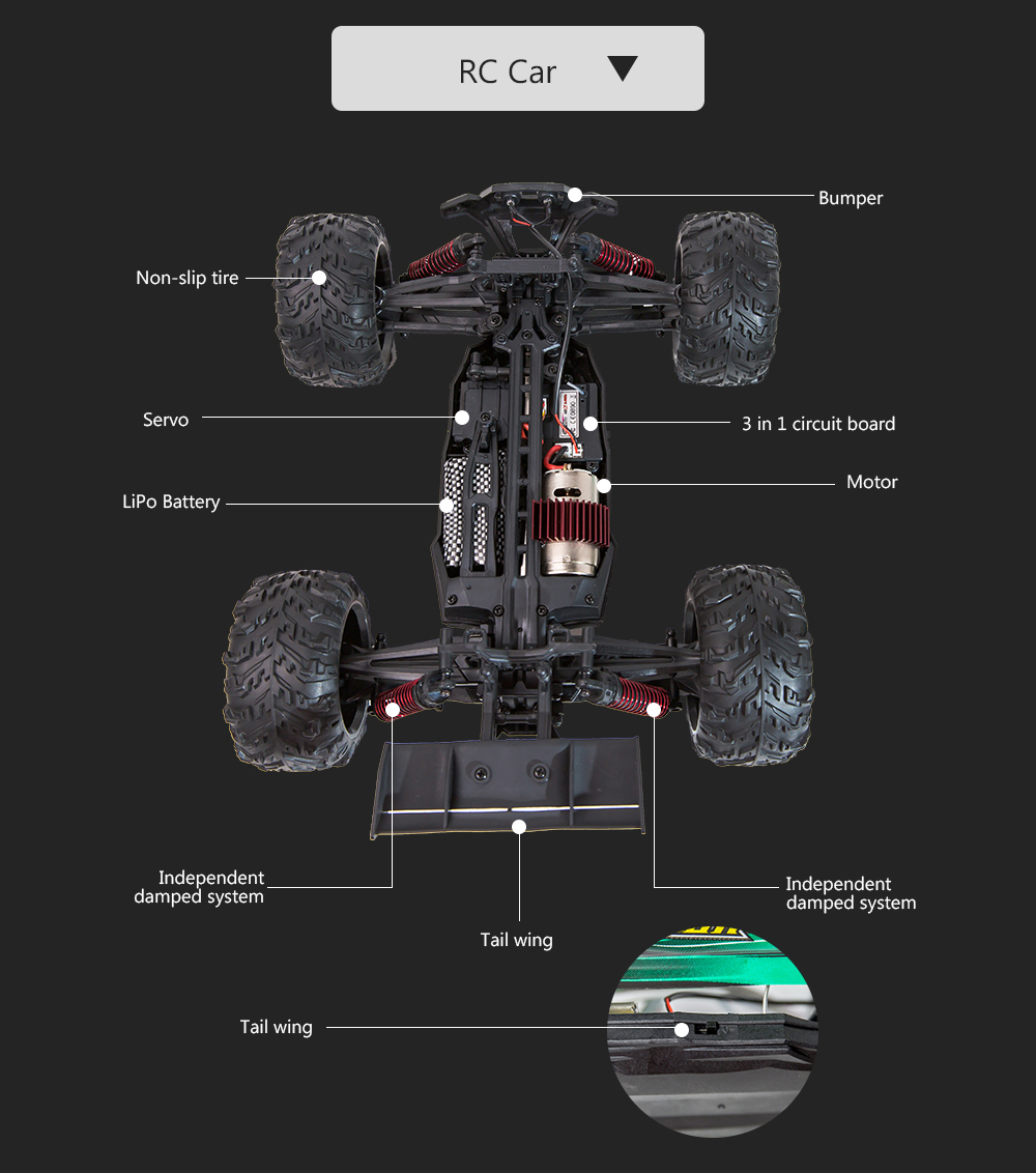 Xinlehong Toys 9136 1 16 Rc Car 24g 4wd 36km H Bigfoot Off Road Street Circuit Racing 3d City Cars Speed Racer Drive On The Mac App