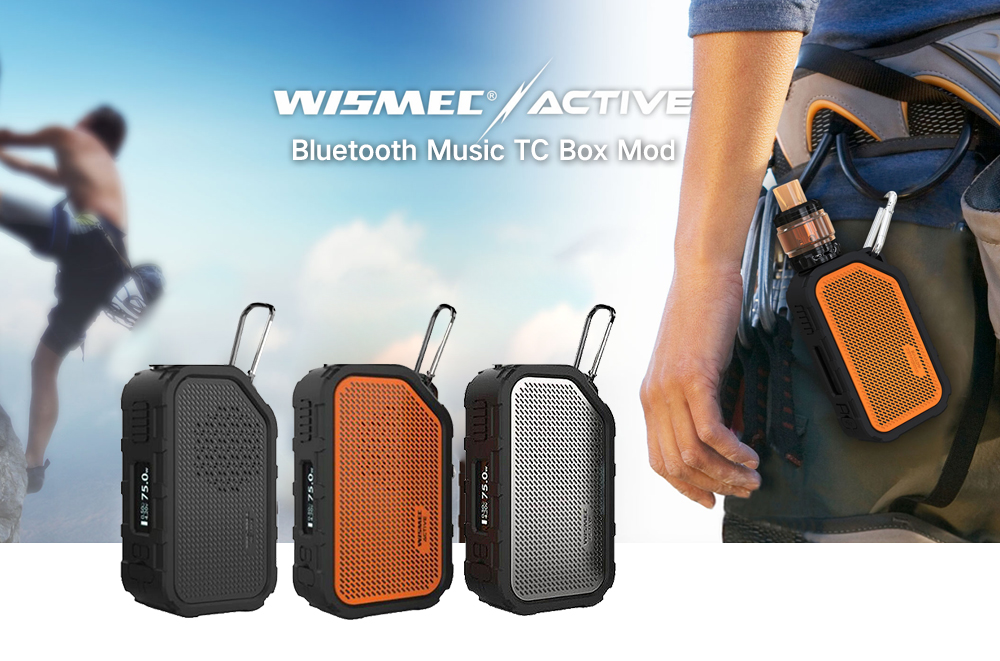 Wismec Active Bluetooth Music Box Mod 2100mAh