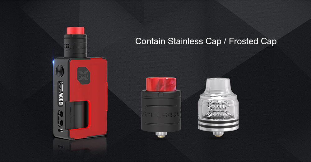 Vandy Vape Pulse X 90W Squonk Kit with Pulse X BF RDA for E Cigarette- Green