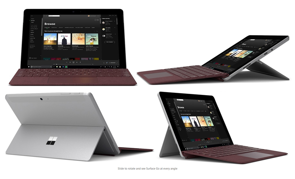 microsoft 10 surface go