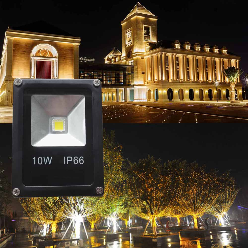 Waterproof Led Flood Light 10w Spotlight Outdoor Lighting Ac85 265v