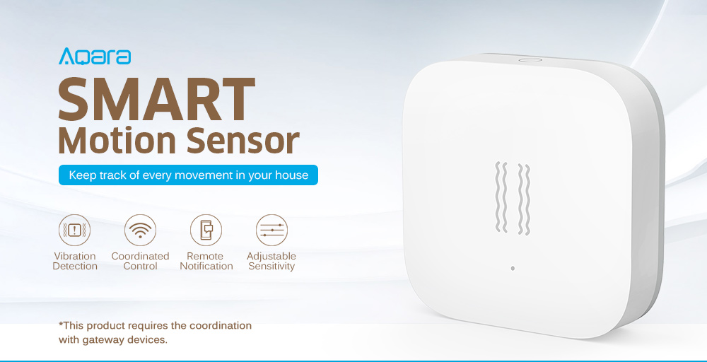 Gearbest Aqara Smart Motion Sensor International Edition