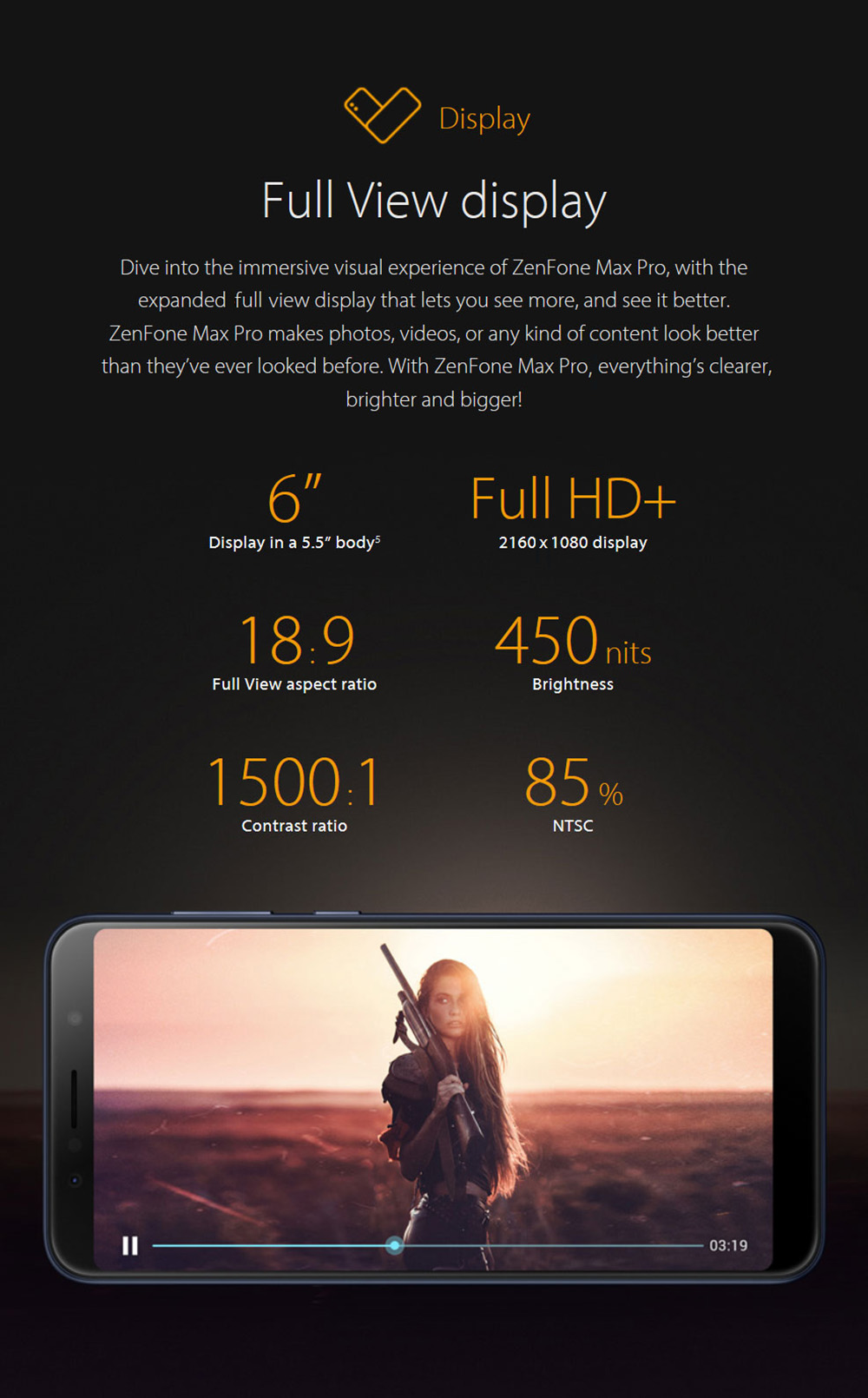 Asus Zenfone Max Pro M1 3gb Ram 4g Phablet Taiwan Version 60 Inch Android 81 Oreo Qualcomm Snapdragon