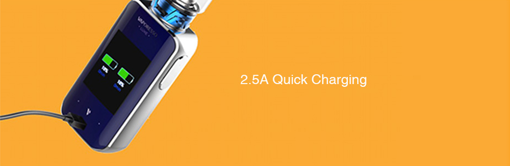 Vaporesso Luxe 220W Touch Screen TC Mod Quick Charging