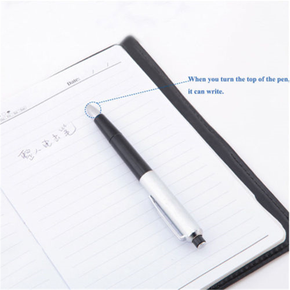 Pen Portable Creative Novelty Funny Shocking Electric Gadget Toy for Prank- Black