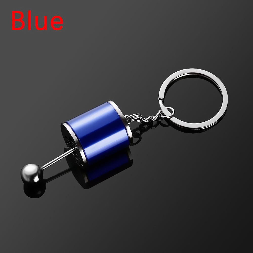 Creative Auto Part Model Six-Speed Manual Transmission Shift Lever Keychain